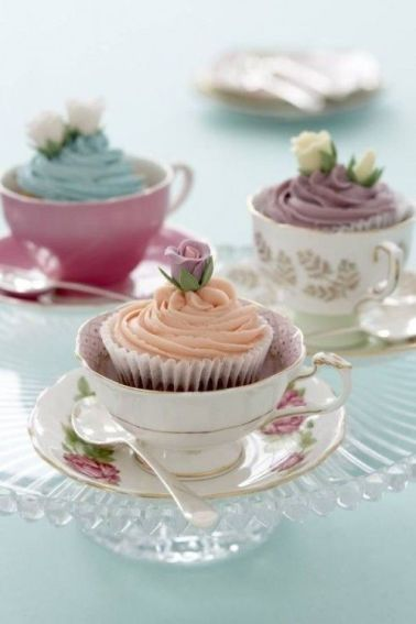 Cupcakes for breakfast
