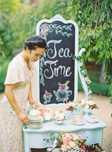 Chalkboards to guide your guests