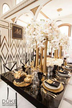 Art Deco set up